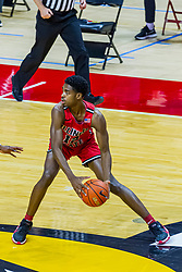 NORMAL, IL - February 27: Antonio Reeves during a college basketball game between the ISU Redbirds and the Northern Iowa Panthers on February 27 2021 at Redbird Arena in Normal, IL. (Photo by Alan Look)