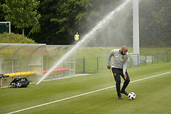 June 5, 2018 - Tubize, BELGIQUE - TUBIZE, BELGIUM - JUNE 5 : Thierry Henry ass. coach of Belgian Team during the training prior to friendly game against Egypt as preparation to the 2018 World Cup Russia at the Belgian Football center on June 05, 2018 in Tubize, Belgium, 5/06/18 (Credit Image: © Panoramic via ZUMA Press)