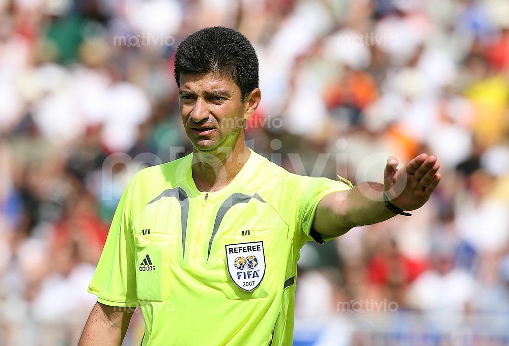 Fussball International U 20 WM  Spanien 4-2 Jordanien Schiedsrichter Hernando Buitrago (COL)