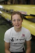Caversham, Great Britain, Laura GREENHALGH, GB Rowing media day at the Redgrave Pinsent Rowing Lake. GB Rowing Training centre. Tue. 29.04.2008  [Mandatory Credit. Peter Spurrier/Intersport Images] Rowing course: GB Rowing Training Complex, Redgrave Pinsent Lake, Caversham, Reading