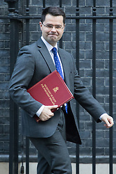 Downing Street, London, January 17th 2017. Northern Ireland Secretary James Brokenshire leaves 10 Downing Street following the weekly cabinet meeting, ahead of Prime Minister Theresa May's key Brexit speech.