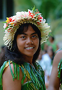 Chief on the island of Kiribati in the South Pacific