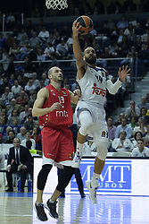 March 10, 2017 - Madrid, Madrid, Spain - Jeff Taylor  of Real Madrid in action during the 2016/2017 Turkish Airlines EuroLeague Regular Season Round 25 game between Real Madrid v Crvena Zvezda mts Belgrade at Wizink Center on March 10, 2017 in Madrid, Spain. Photo: Oscar Gonzalez/NurPhoto  (Credit Image: © Oscar Gonzalez/NurPhoto via ZUMA Press)