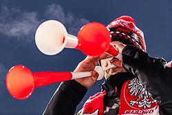 19.01.2019, Wielka Krokiew, Zakopane, POL, FIS Weltcup Skisprung, Zakopane, Herren, Teamspringen, im Bild Zuschauer, Fans, tröte, Vuvuzela // Spectators Fans Vuvuzela during the men's team event of FIS Ski Jumping world cup at the Wielka Krokiew in Zakopane, Poland on 2019/01/19. EXPA Pictures © 2019, PhotoCredit: EXPA/ JFK