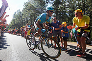 Omar Fraile (ESP - Astana Pro Team) during the 105th Tour de France 2018, Stage 14, Saint-Paul-trois-Chateaux - Mende (188 km) on July 21th, 2018 - Photo Kei Tsuji / BettiniPhoto / ProSportsImages / DPPI
