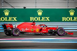 Sebastian Vettel (Scuderia Ferrari) rides during the qualifying session of Grand Prix de France 2018, Le Castellet, France, on June 23rd, 2018. Photo by Marco Piovanotto/ABACAPRESS.COM