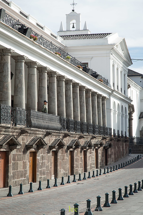 The Presidential Palace, Independence Square, Quito
