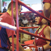 2. WOMEN'S WORLD BOXING CHAMPIONSHIPS.<br /> Norway's Kitel Henrite winner. Dilek Sabanci Sport Hall Antalya/Turkey<br /> Photo by Aykut AKICI/TurkSporFoto