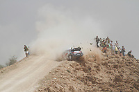 MOTORSPORT - WRC 2011 - JORDAN RALLY - 14 TO 16/04/2011 - DEAD SEA (JOR) - PHOTO : FRANCOIS BAUDIN / AGENCE DE  PRESSE AUSTRAL  <br /> 11 PETTER SOLBERG (NOR) / CHRIS PATTERSON (GBR) - CITROËN DS3 WRC - PETTER SOLBERG WRT - ACTION CRASH
