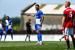Jonson Clarke-Harris of Bristol Rovers - Rogan/JMP - 08/08/2020 - FOOTBALL - The Creek - Bristol, England - Bristol Manor Farm v Bristol Rovers - Pre-season Friendly