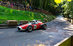 Boness Revival hillclimb motorsport event in Boness, Scotland, UK. The 2019 Bo'ness Revival Classic and Hillclimb, Scotland's first purpose-built motorsport venue, it marked 60 years since double Formula 1 World Champion Jim Clark competed here.  It took place Saturday 31 August and Sunday 1 September 2019. 730 Stephanie Withall Sauter Formula Junior