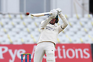 Tom Moores of Nottinghamshire during the LV= Insurance County Championship match between Nottinghamshire County Cricket Club and Durham County Cricket Club at Trent Bridge, Nottingham, United Kingdom on 10 April 2021.