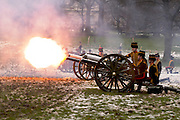 The 41 gun salute could be heard all over London