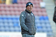 Paul Cook during the EFL Sky Bet League 1 match between Wigan Athletic and Rochdale at the DW Stadium, Wigan, England on 24 February 2018. Picture by Daniel Youngs.