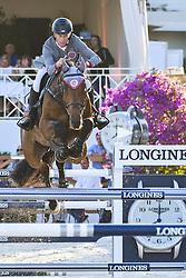 June 9, 2018 - Cannes, France - Rolf Goran Bengtsson (Suede) - Equipe Cascais Charms - Oak Grove s Carlyle (Credit Image: © Panoramic via ZUMA Press)