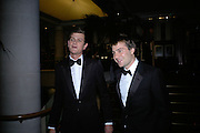 Lord Alexander Spencer Churchill and Ben Goldsmith, THE DINER DES TSARS in aid of UNICEF. To celebrate the launch of Quintessentially Wine, Guildhall. London. 29 March 2007.  -DO NOT ARCHIVE-© Copyright Photograph by Dafydd Jones. 248 Clapham Rd. London SW9 0PZ. Tel 0207 820 0771. www.dafjones.com.