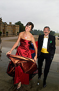 Richard Fisher and Paula Patrice, Ball at Blenheim Palace in aid of the Red Cross, Woodstock, 26 June 2004. SUPPLIED FOR ONE-TIME USE ONLY-DO NOT ARCHIVE. © Copyright Photograph by Dafydd Jones 66 Stockwell Park Rd. London SW9 0DA Tel 020 7733 0108 www.dafjones.com
