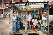 Top Class Barbing & Tele Centre.  Bo, Sierra Leone