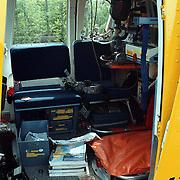 Ongeval Muidertrekvaart Muiderberg met beknelling en trauma helicopter int