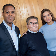 NLD/Muiden/20180325 - Boekpresentatie koken met Shane Kluivert , Patrick Kluivert, en haar vader