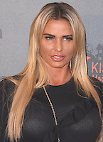 Katie Price, Kiss FM Haunted House Party 2016 - VIP Arrivals, The SSE Arena Wembley, London UK, 27 October 2016, Photo by Brett Cove