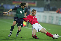 Fotball , mars 2005, Slovenia - Tyskland, Andrej KOMAC, Thomas HITZLSPERGER
