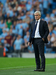 01.09.2012, Etihad Stadion, Manchester, ENG, Premier League, Manchester City vs Queens Park Rangers, 2. Runde, im Bild Queens Park Rangers' manager Mark Hughes during the English Premier League 2nd round match between Manchester City and Queens Park Rangers at the Etihad Stadium, Manchester, Great Britain on 2012/09/01. EXPA Pictures © 2012, PhotoCredit: EXPA/ Propagandaphoto/ David Rawcliff..***** ATTENTION - OUT OF ENG, GBR, UK *****