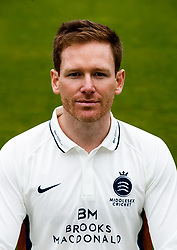 Middlesex's Eoin Morgan  during the media day at Lord's Cricket Ground, London. PRESS ASSOCIATION Photo. Picture date: Wednesday April 11, 2018. See PA story CRICKET Middlesex. Photo credit should read: John Walton/PA Wire. RESTRICTIONS: Editorial use only. No commercial use without prior written consent of the ECB. Still image use only. No moving images to emulate broadcast. No removing or obscuring of sponsor logos.