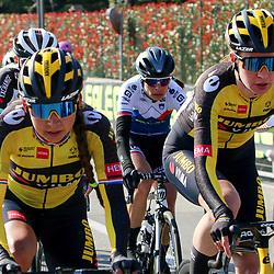 21-03-2021: Wielrennen: Tropheo Alfredo Binda: Cittiglio<br />Riejanne Markus, Anouska Koster