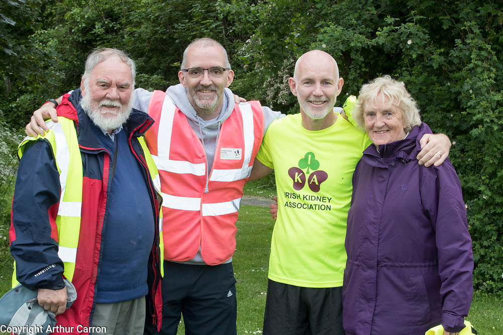 NO FEE PICTURES                                                                                                                                                RTE's Ray D'Arcy was joined by hundreds of people from throughout the country who donned their running shoes at the weekend to support the Irish Kidney Association's Run for a Life. The family fun run, which is now in its eleventh year and celebrates organ donation and transplantation, was held at Corkagh Park, Clondalkin, Dublin 22 on Saturday 25th May. The 'Run for a Life' was open to people of all ages and levels of fitness who could choose to walk, jog or run in the event, which offered prizes for winners in a choice of chip timed 2.5km, 5km and 10km distances. www.runforalife.ie. Pictured are : Picture: Arthur Carron