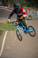 #66 (PALMER James) CAN during practice at Round 9 of the 2019 UCI BMX Supercross World Cup in Santiago del Estero, Argentina