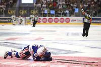 Ishockey , 15. september 2016 , Eliteserien , Get-ligaen , Stavanger Oilers - Sparta<br /> Marius Hagberg of Sparta in action v Stavanger Oilers. Foto: Andrew Halseid Budd , Digitalsport