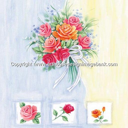 Floral art for licensing