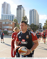 3 June 2013; Cian Healy, British & Irish Lions, makes his way to squad training ahead of their game against Western Force on Wednesday. British & Irish Lions Tour 2013, Squad Training, Langley Park, Perth, Australia. Picture credit: Stephen McCarthy / SPORTSFILE