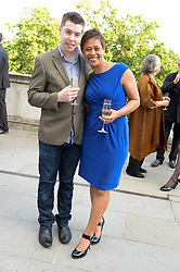 MONICA GALETTI and MARTIN BUCKLEY at the opening party for elBulli: Ferran Adria and The Art of Food - an exhibition at Somerset House, London on 4th July 2013.