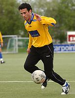 Fotball, NM, Cup Trondheim 26.05.2004, Strindheim - Fana 5-2, Serkan Kucukyavuz, Strindheim<br />Foto: Carl-Erik Eriksson, Digitalsport