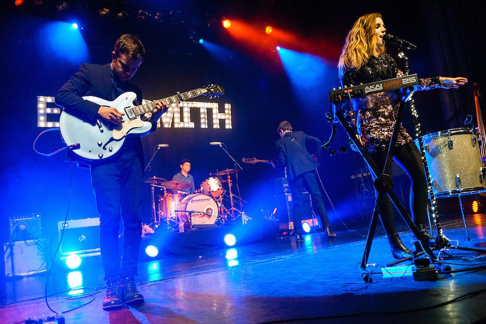 Echosmith performing live at the Regency Ballroom concert venue in San Francisco, CA on March 25, 2015