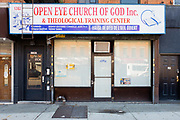 Open Eye Church of God Inc. & Theological Training Center, 1382 Flatbush Avenue, Brooklyn.