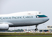 Cathay Pacific Boeing 747-467F Cargo at Milan - Malpensa (MXP / LIMC)