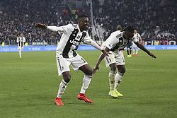 March 8, 2019 - Turin, Piedmont, Italy - Blaise Matuidi (Juventus FC) celebrates after scoring during the Serie A football match between Juventus FC and Udinese Calcio at Allianz Stadium on March 08, 2019 in Turin, Italy..Juventus won 4-1 over Udinese. (Credit Image: © Massimiliano Ferraro/NurPhoto via ZUMA Press)