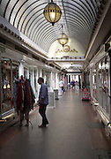 The Corridor covered shopping arcade opened in 1825, Bath, Somerset, England