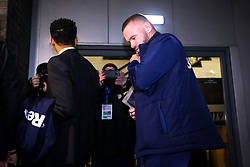 Wayne Rooney of Derby County arrives at Pride Park Stadium for his expected debut against Barnsley - Mandatory by-line: Robbie Stephenson/JMP - 02/01/2020 - FOOTBALL - Pride Park Stadium - Derby, England - Derby County v Barnsley - Sky Bet Championship