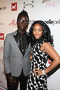 l to r: Saul Williams and Michelle Murray(Brand Director, Alize) at the Celebrity Catwalk co-sponsored by Alize held at The Highlands Club on August 28, 2008 in Los Angeles, California..Celebrity Catwork for Charity, a fashion show/lifestyle event, raises funds & awareness for National Animal Rescue.