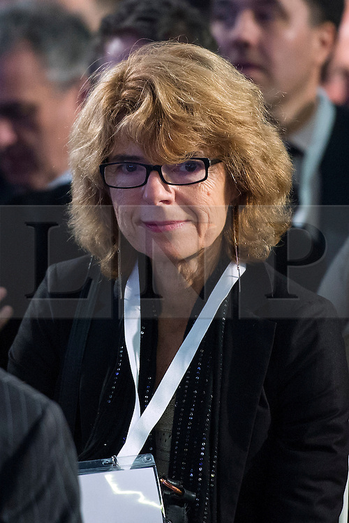 © Licensed to London News Pictures. 12/10/2015. London, UK. Economist VICKY PRICE at the launch event. The launch of the Britain Stronger in Europe campaign at the Truman Building in London. The campaign is being by led by Former M&S chairman, Lord Stuart Rose. Photo credit: Ben Cawthra/LNP