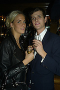 Lady Louisa Compton and Lord Alexander Spencer-Churchill, Tatler's Little Black Book party. Tramp. Jermyn St.  London. 7 November 2007. -DO NOT ARCHIVE-© Copyright Photograph by Dafydd Jones. 248 Clapham Rd. London SW9 0PZ. Tel 0207 820 0771. www.dafjones.com.