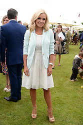 KATHERINE JENKINS at the 2013 Cartier Queens Cup Polo at Guards Polo Club, Berkshire on 16th June 2013.