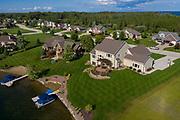 Residential neighborhood near Green Bay, Wisconsin.
