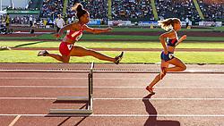 women's 400 meter hurdles,   Jade Miller, USA