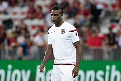 August 22, 2017 - Player of Nice Mario Balotelli,  during the UEFA Champions League Qualifying Play-Offs round, second leg match, between OGC Nice and SSC Napoli at Allianz Riviera Stadium on August 22, 2017 in Nice, France. (Credit Image: © Paolo Manzo/NurPhoto via ZUMA Press)