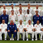 The England cricket sides team photo at Edgbaston.